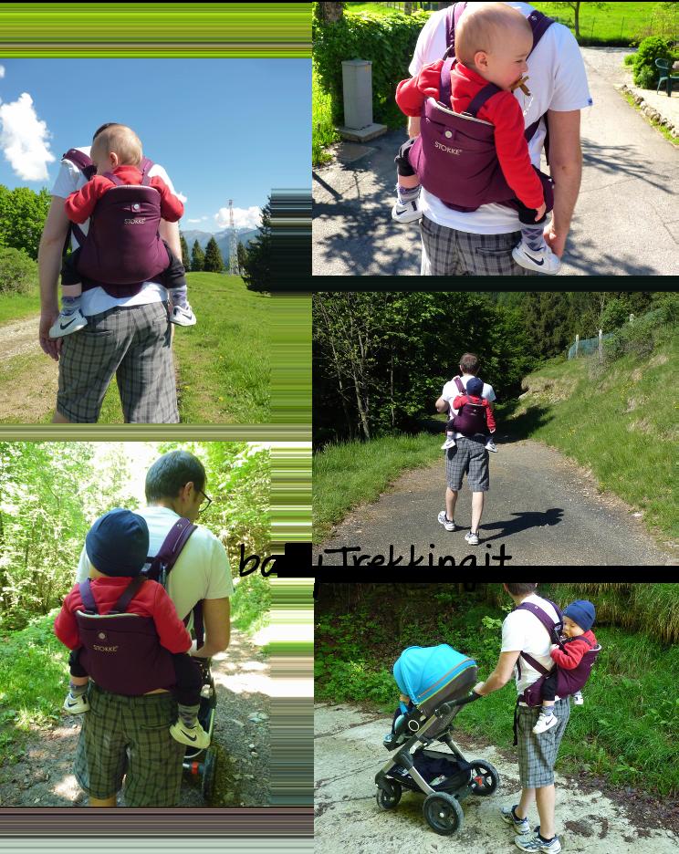 Sulle spalle di papà: trekking col marsupio MyCarrier Stokke