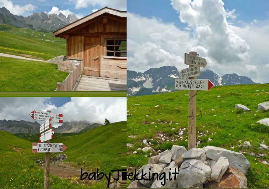 Rifugio Passo Selle, tra panorami e storia