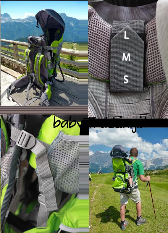 Trekking con i bambini: Marsupio Carrybaby