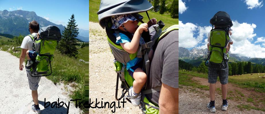 Trekking con i bambini: zaino Marsupio Carrybaby