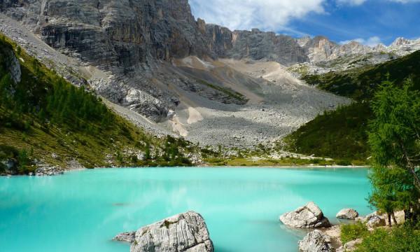 Rifugio Vandelli e Lago Sorapis, coi bambini nella valle incantata