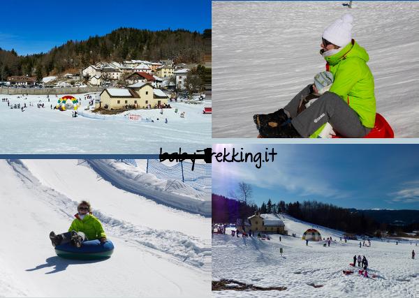 Neveland a Lavarone: divertimento per bambini sull'Alpe Cimbra
