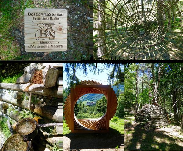 BAS Bosco Arte Stenico: tra natura e land art col passeggino