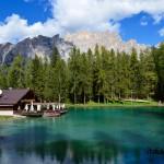 Lago Ghedina coi bambini, a Cortina tra boschi e paesaggi