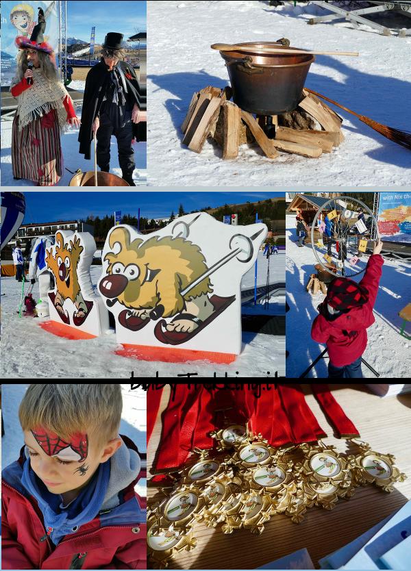 Festival della Strega Nix sull'Alpe di Siusi: sci e divertimento per bambini
