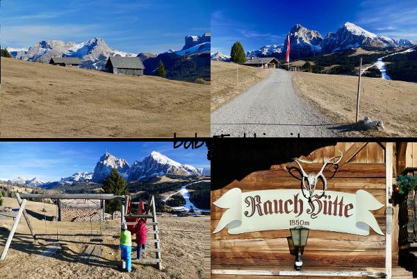 Alpe di Siusi coi bambini: Rauchhutte, escursione a portata di passeggino