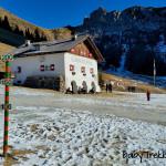 Escursione invernale al Rifugio Città di Fiume: incanto bianco sotto al Pelmo
