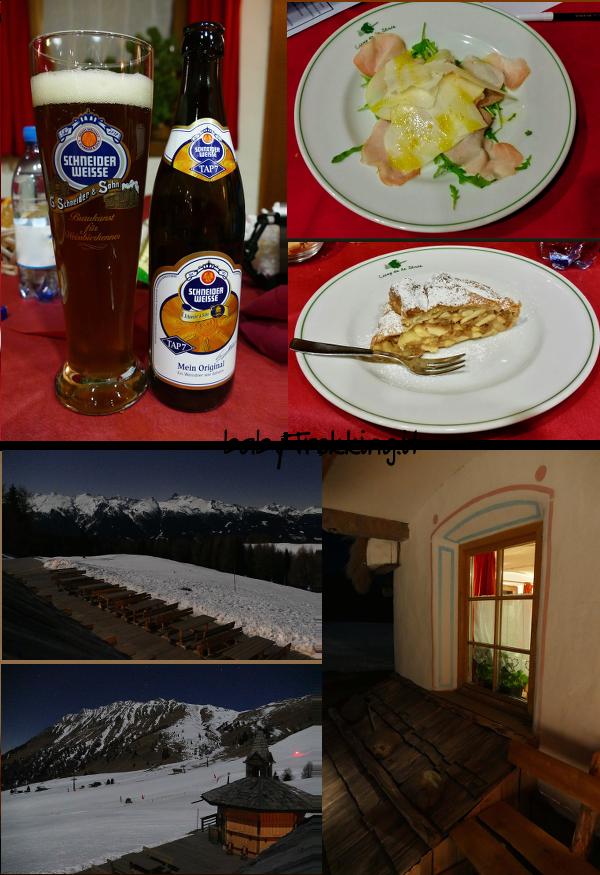 Con la motoslitta sotto le stelle in Val di Fiemme: cena alla Baita Ciamp dele Strie