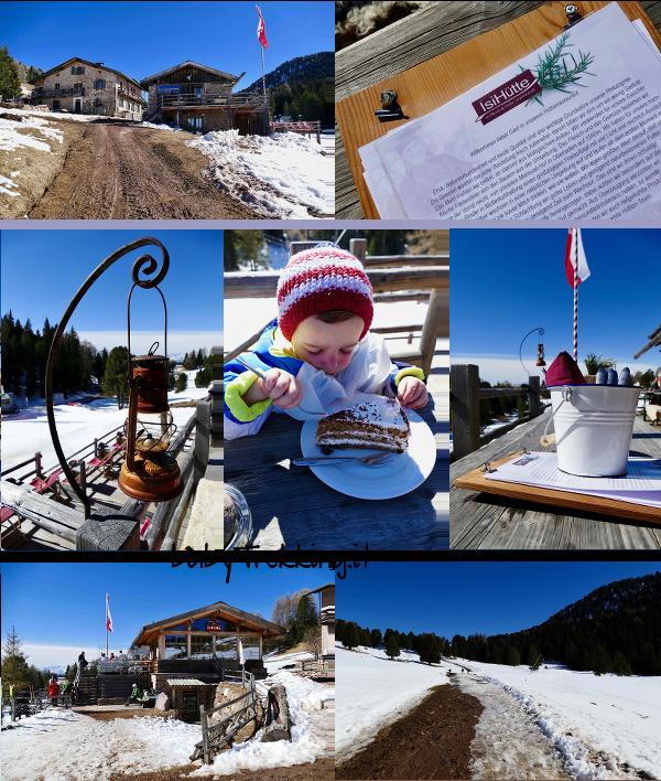Passo Oclini in inverno: coi bambini a Malga Gurndin e Isi Hutte