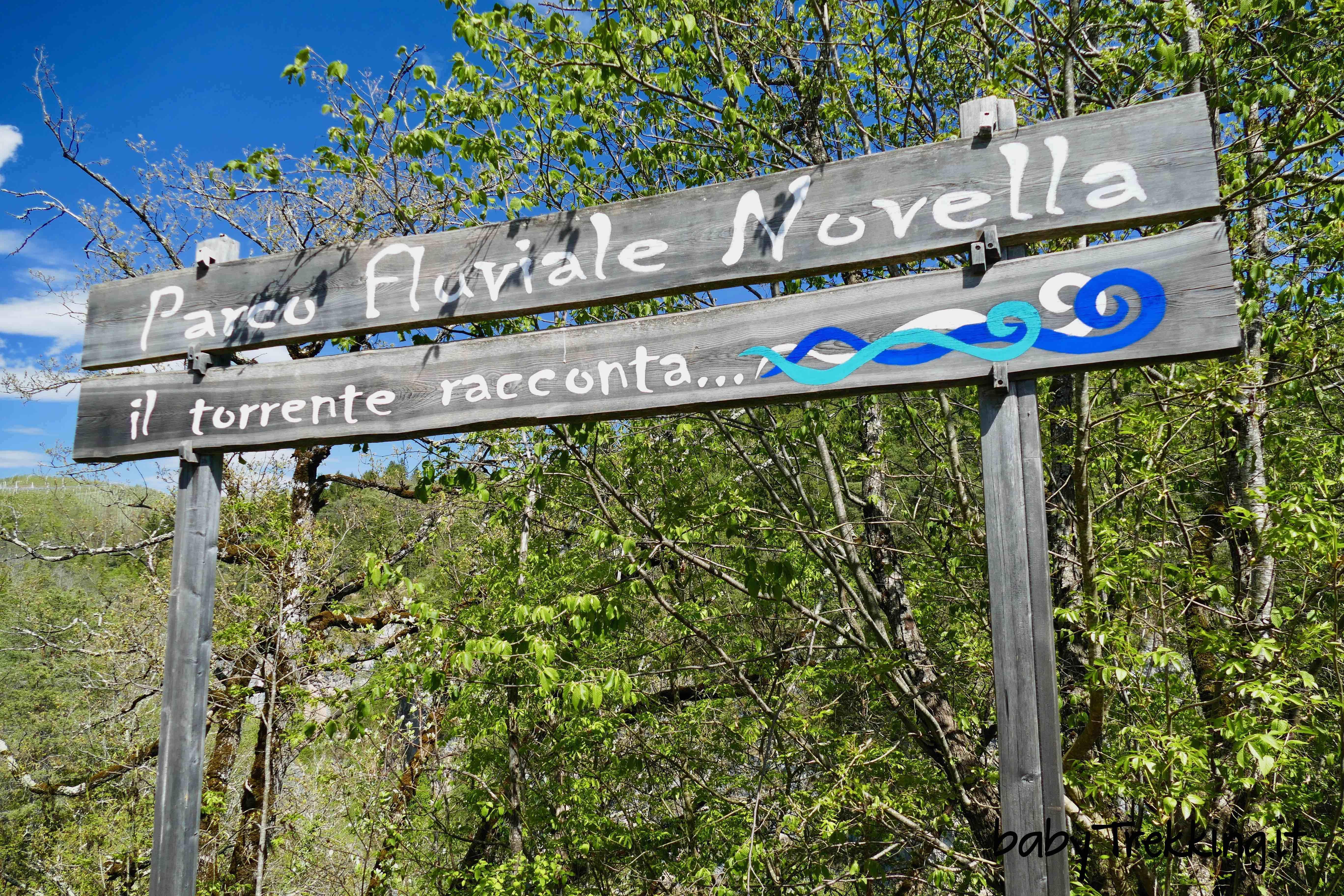 Parco Fluviale Novella, coi bambini nelle strette forre della Val di Non