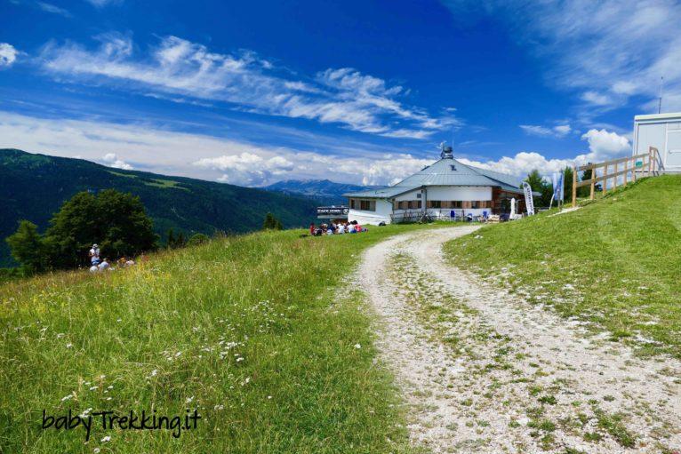 Da Passo Coe al Rifugio Baita Tonda: coi bambini sull'Alpe Cimbra