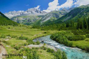 In Val di Fumo coi bambini tra paesaggi meravigliosi e torrenti gorgheggianti