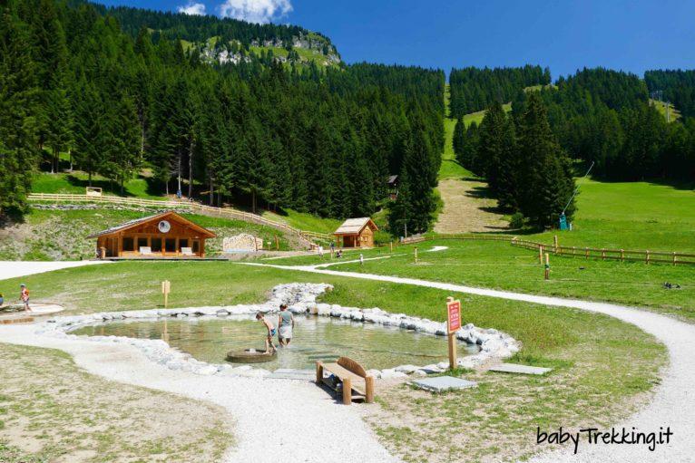 Ally Farm ad Alleghe: tanto divertimento per bambini sotto al Civetta