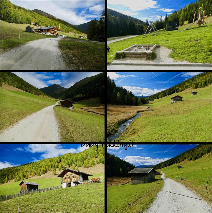 Grossberghutte, Weiserhutte e Pranter Stadelhutte: in Valle di Altafossa col passeggino