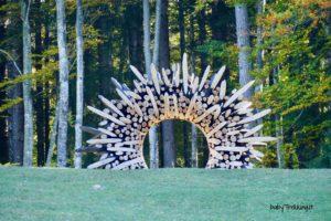 Foliage d'autore in Valsugana: coi bambini ad Arte Sella