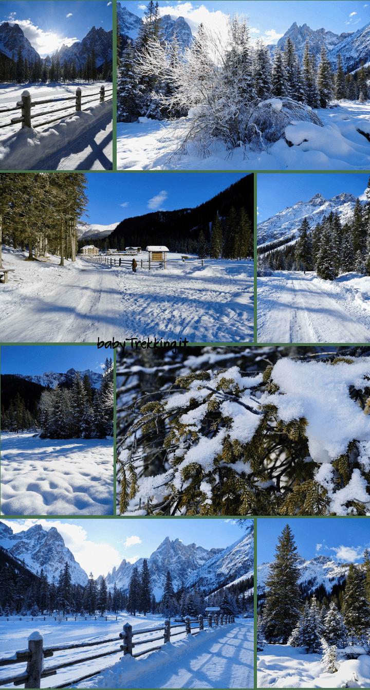 Con le ciaspole in Val Fiscalina, incantevole Alta Pusteria sotto la neve
