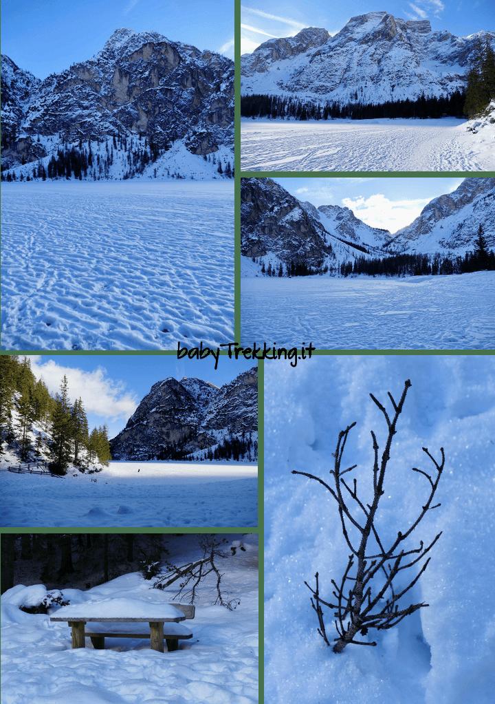 Con le ciaspole al lago di Braies: alla Malga Foresta tra splendidi panorami