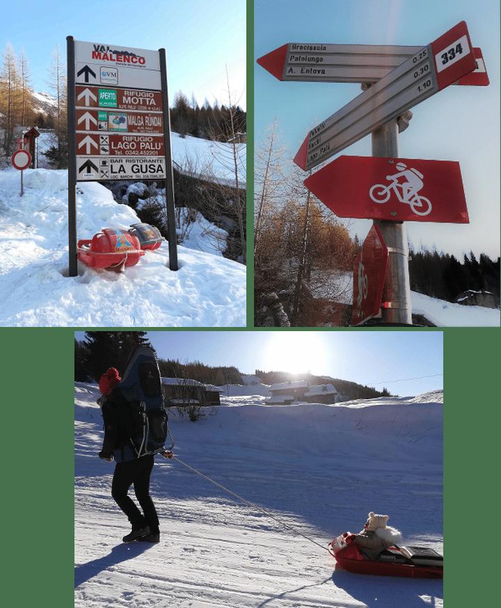 Rifugio e lago Palù: in inverno coi bambini in Valmalenco