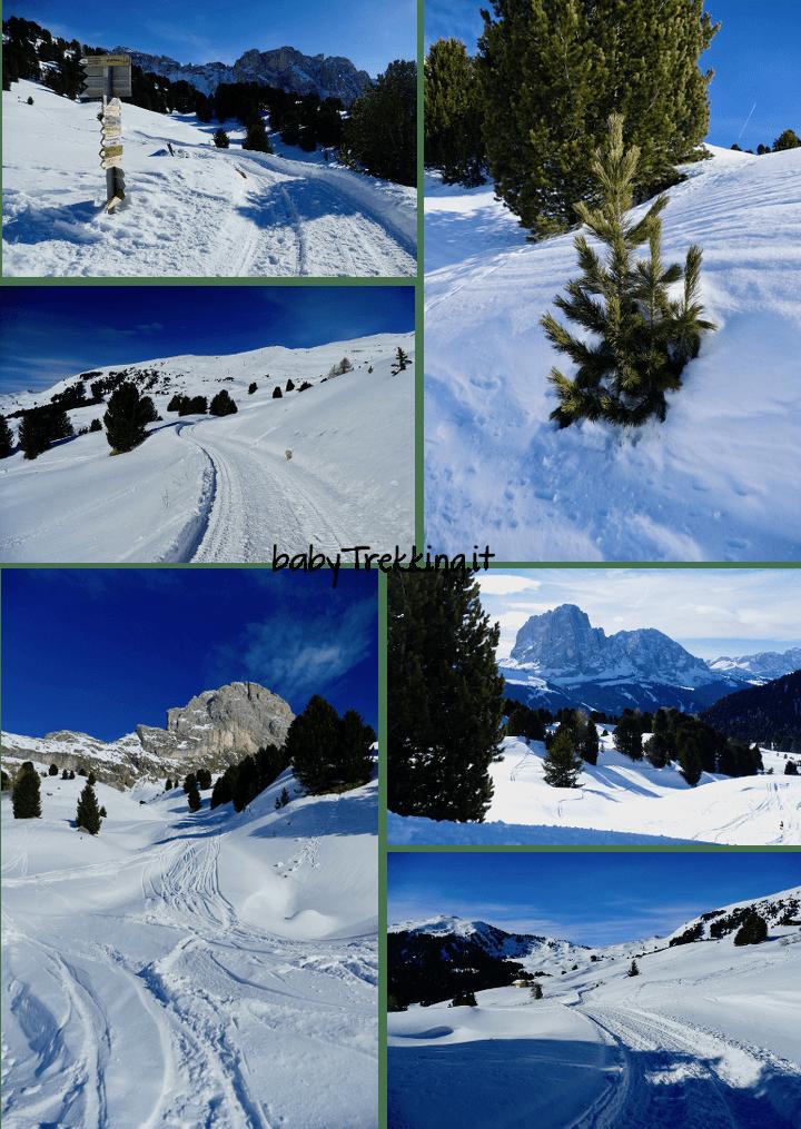 Al Rifugio Fermeda con le ciaspole, incanto d'inverno in Val Gardena