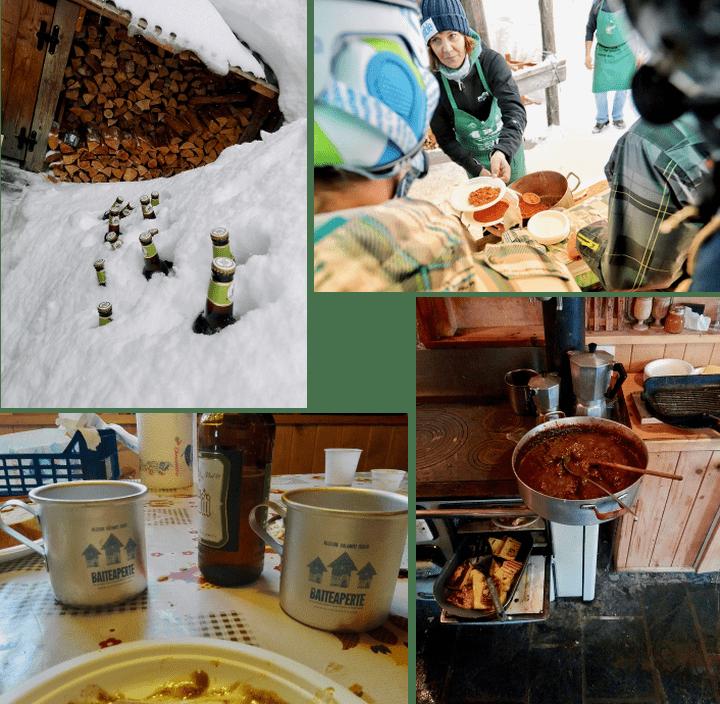 Baite Aperte, ad Alleghe una giornata dedicata a neve e degustazione