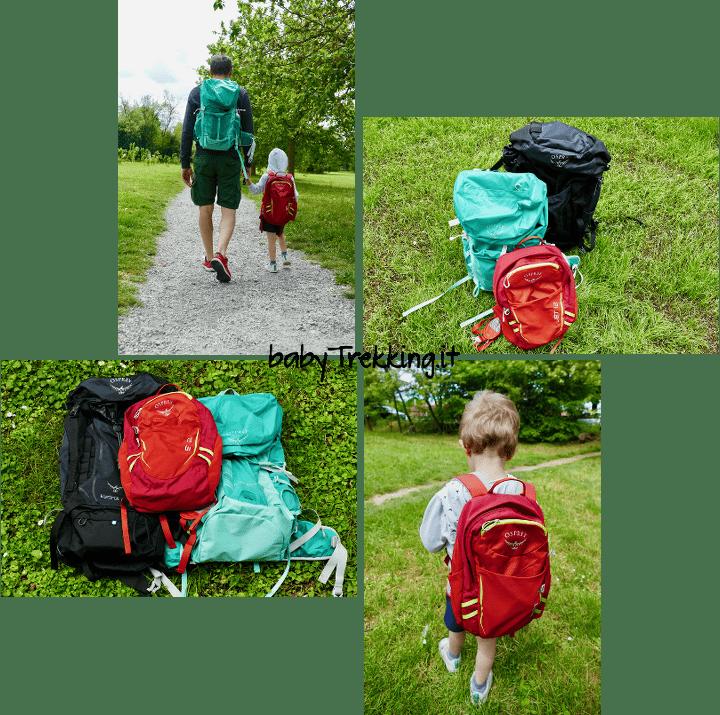 In montagna con i bambini: scegliere il proprio zaino con Osprey