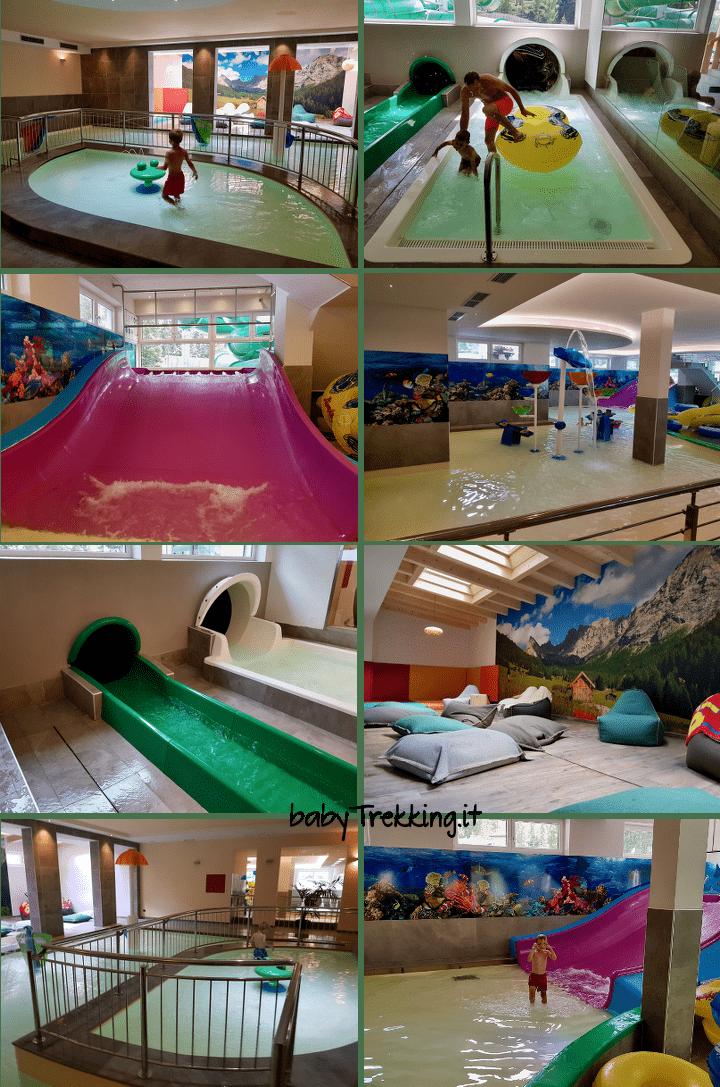 Cosa fare in Val di Fassa se piove: Camping Vidor Aquapark!
