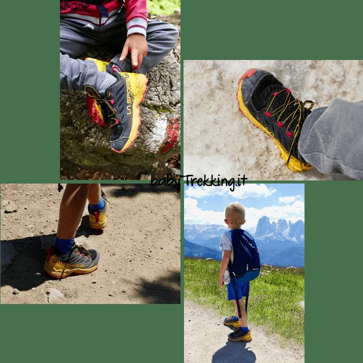 In montagna in famiglia: calzature e abbigliamento per bambini e genitori
