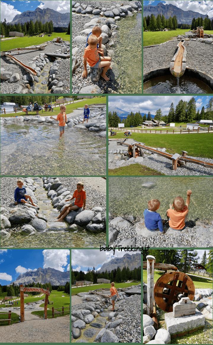 Summer Park La Crusc: meraviglioso parco per bambini in Alta Badia