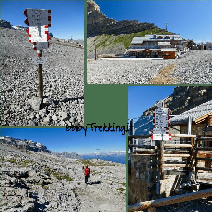 Rifugio Tuckett e Vallesinella, coi bambini sulle Dolomiti di Brenta